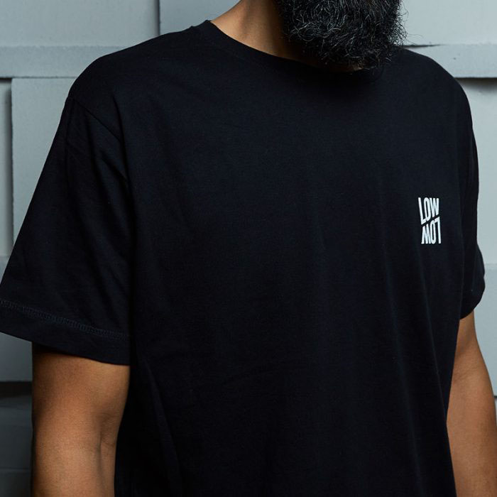 T-Shirt black, front