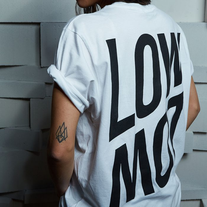 LowLow Essentials: T-Shirt white