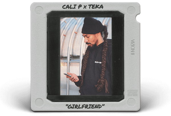 Cali P x Teka – Girlfriend Cover Artwork