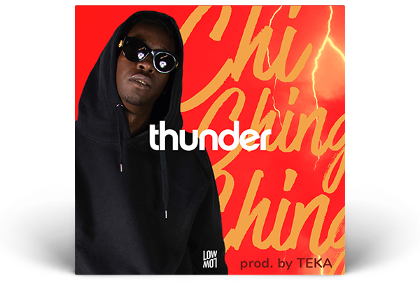 Artwork Chi Ching Ching – Thunder prod Teka