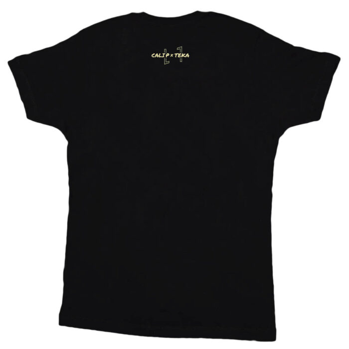 Cali P Merchandise T-Shirt Cali Vibe Black back