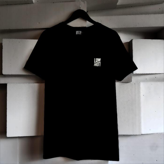 LowLow Logo-Shirt Black Front