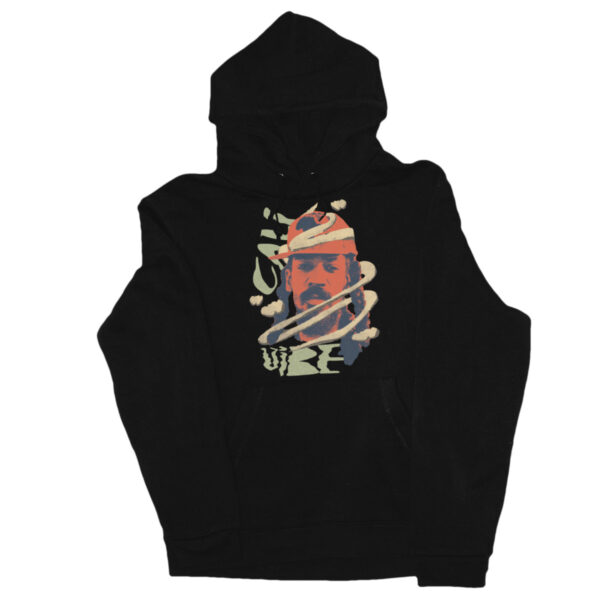 Cali Vibe Hoody black front