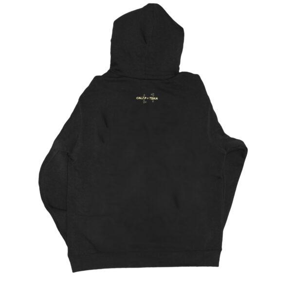 Cali Vibe Hoody black back